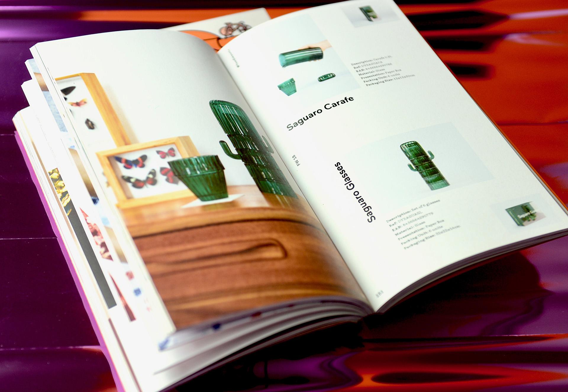 producción catálogo