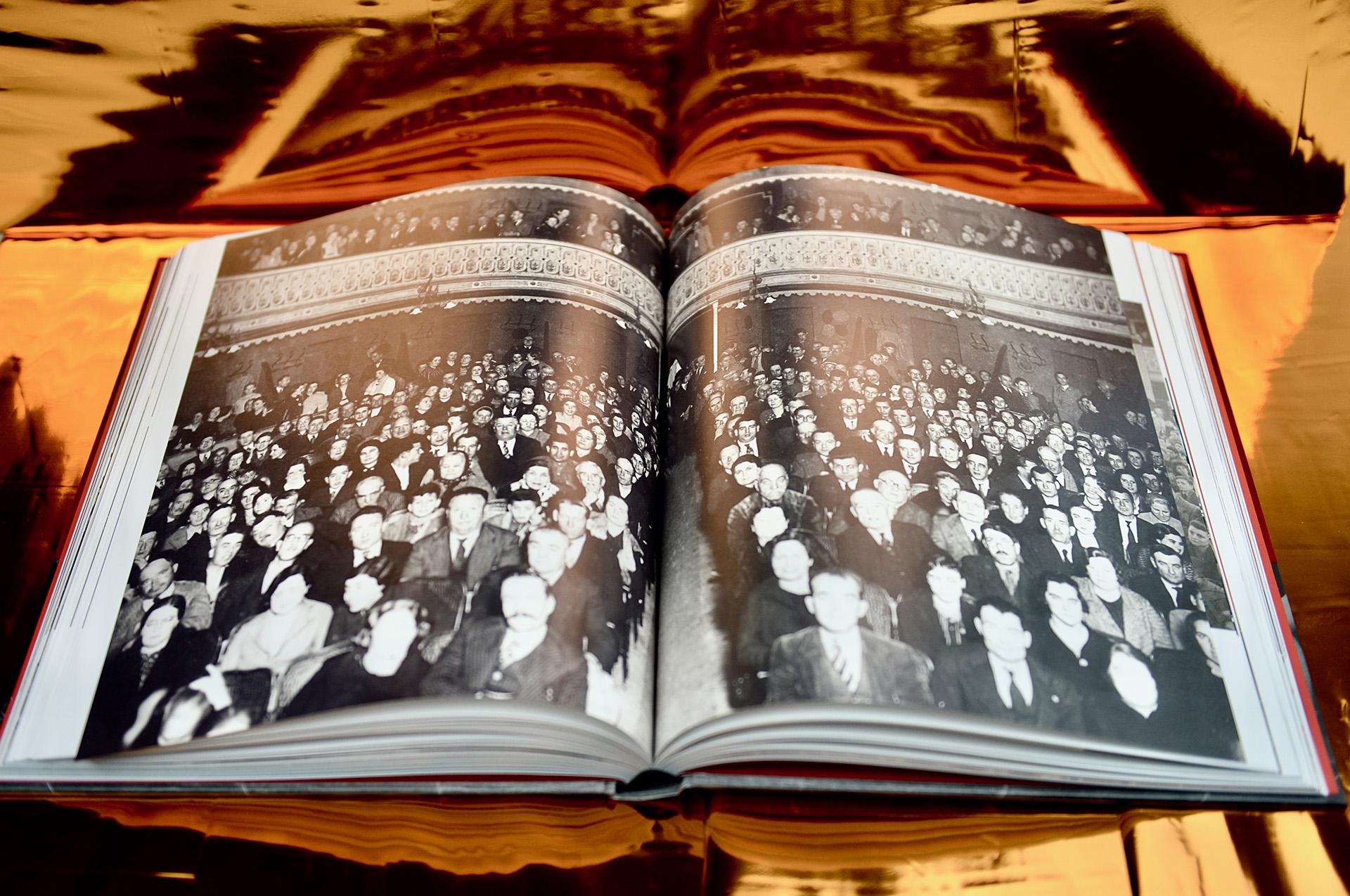 Foto antigua de la platea del Teatre Conservatori