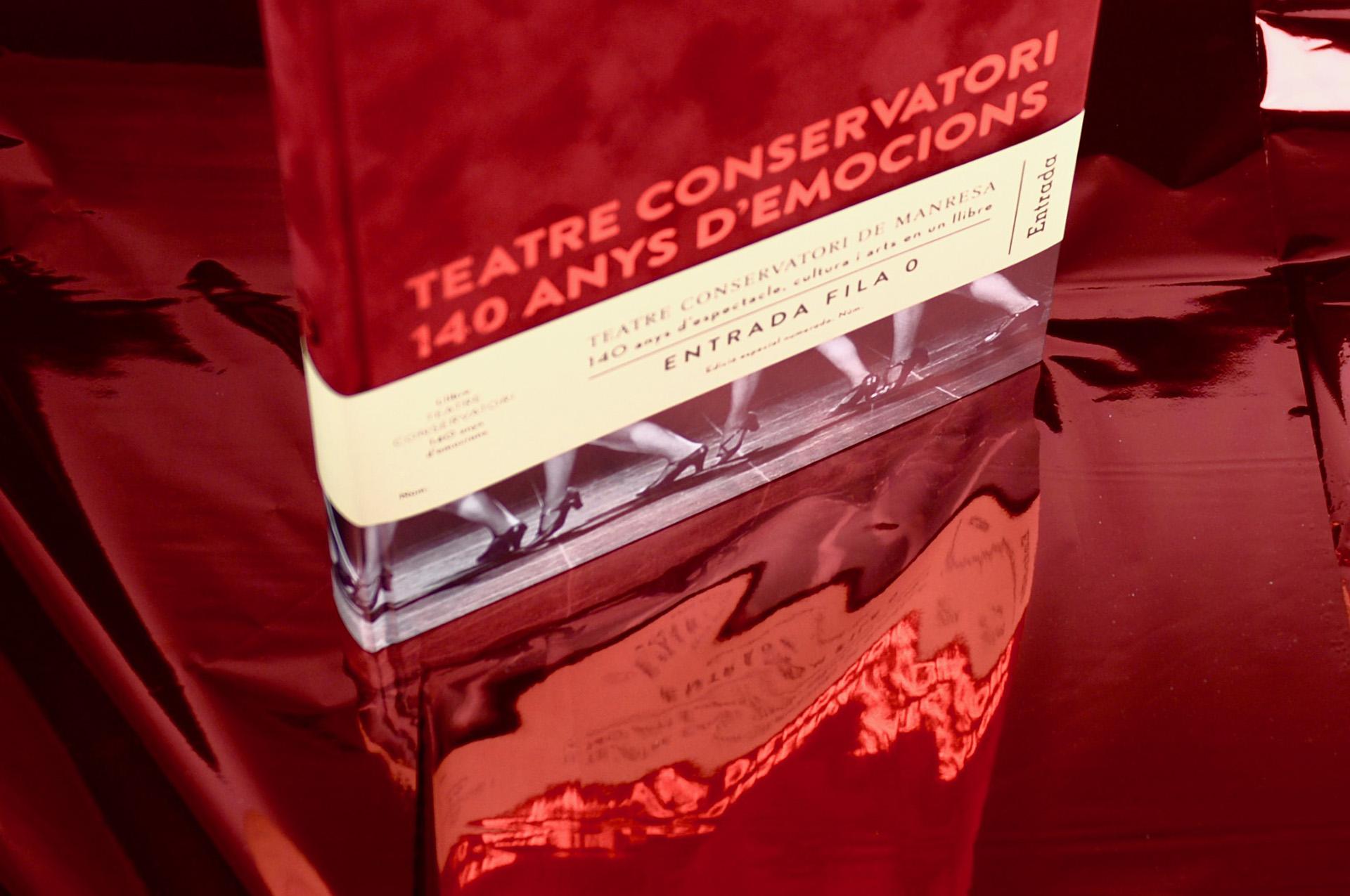 Presentación libro especial Teatre Conservatori Manresa