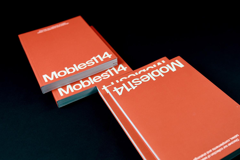 Catálogos Mobles 114 encuadernados en rústica cosida